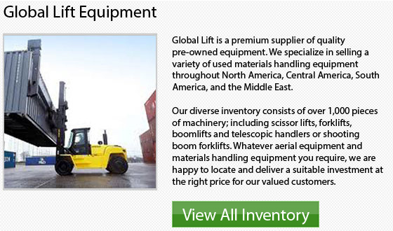 Manitou Pneumatic Tire Forklift